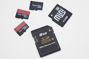 GBはSDカードの容量表記などに使われる