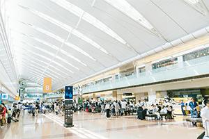 空港や駅でWi-Fiが使える