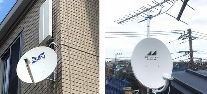アンテナの設置は信頼できる業者に頼む