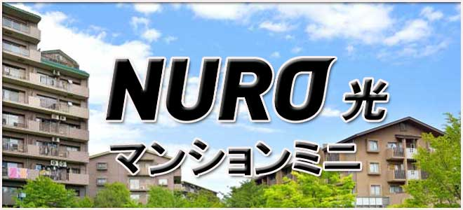 NURO光マンションミニの特徴