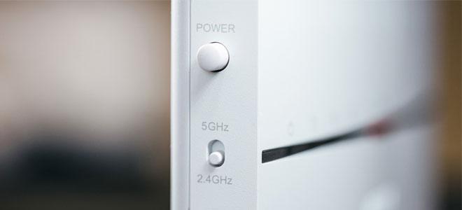 対応する機器は5GHz接続で使う
