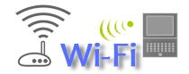 パソコンとのWi-Fi接続